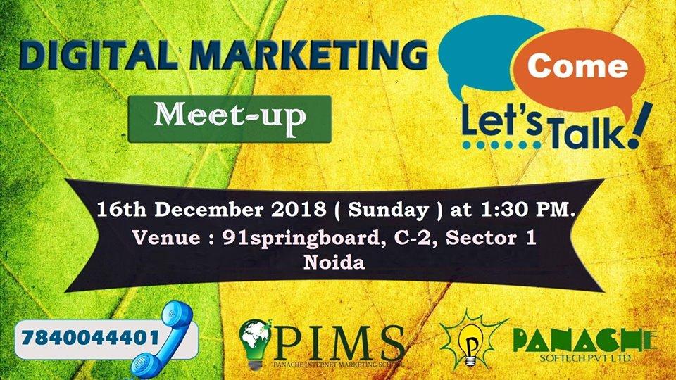 digital marketing meet-up