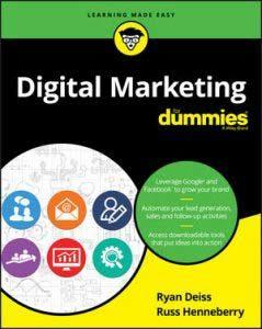 Digital Marketing dummies book