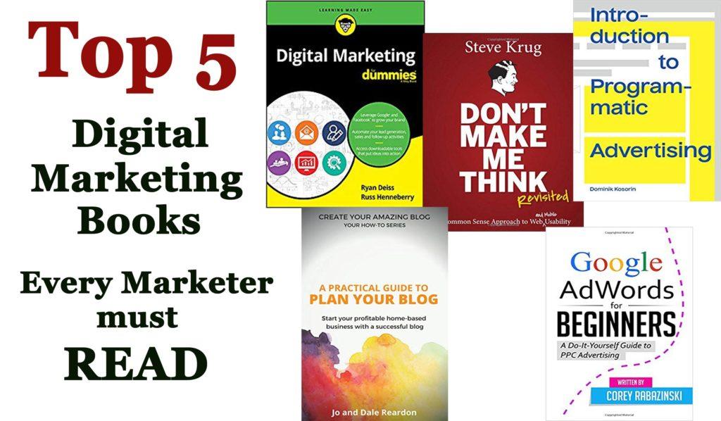 Top 5 Digital Marketing Books