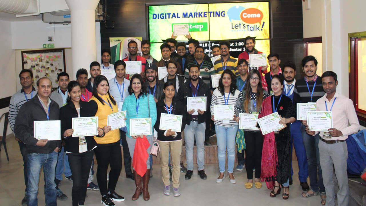 Digital marketing Course Trainees