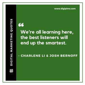 Charlene Li & Josh Bernoff Quotes