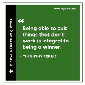 Timonthy Ferris Quotes
