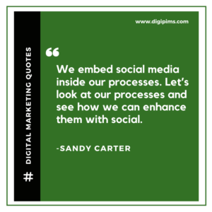 Sandy Carter Quotes