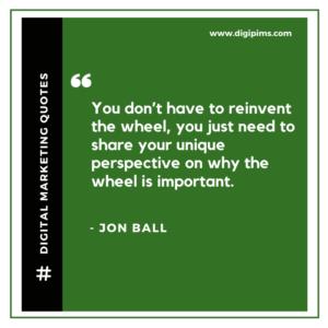 Jon Ball Quotes