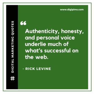 Rick Levine Quotes