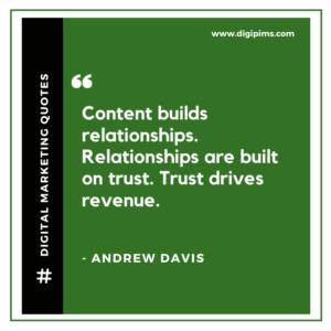 Andrew Davis Quotes