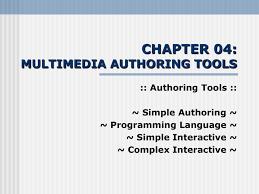 multimedia authoring